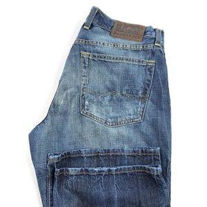 Lucky Brand Slim Bootleg Blue Jeans